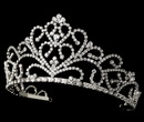 Elegance by Carbonneau HP-1620-S Royal Rhinestone Tiara HP 1620