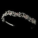 Elegance by Carbonneau HP-392-Red Ruby Red Bridal Tiara HP 392