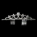 Elegance by Carbonneau HP-6189-S-Clear Classic Bridal Tiara HP 6189