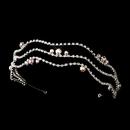 Elegance by Carbonneau HP-624-Silver-AB Silver AB Headpiece Tiara 624