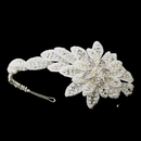 Elegance by Carbonneau HP-655-S-Ivory Pearl Side Accented Headpiece 655