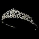Elegance by Carbonneau HP-7061-Silver-Clear Swarovski Crystal Bridal Tiara HP 7061