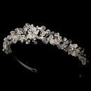 Elegance by Carbonneau HP-8003-SilverLight-Amethyst Headpiece 8003 Silver Light Amethyst