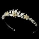 Elegance by Carbonneau HP-8100-SI Lovely Bridal Tiara HP 8100