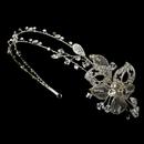 Elegance by Carbonneau HP-8104 Crystal Side Ornament Headband HP 8104