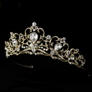 Elegance by Carbonneau HP-8270- Gold or Silver Plated Bridal Tiara HP 8270