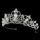 Elegance by Carbonneau HP-8270 Silver Plated Bridal Tiara HP 8270