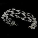 Elegance by Carbonneau HP-8363 Charming Silver Clear Austrian Crystal Bead Headband 8363