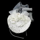 Elegance by Carbonneau HP-9670 Elegant Russian Head Dress Bridal Hat Headband Hair Cap 9670
