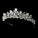 Elegance by Carbonneau HP-9786-S-Clear Fabulous Silver Clear Crystal Tiara Headpiece 9786