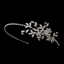 Elegance by Carbonneau HP-9983-AS-Clear Vintage Side Accented Bridal Vine Headband HP 9983