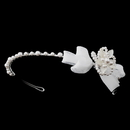 Elegance by Carbonneau HP-C-7589-White Children's White Flower Bow Headband HP C 7589