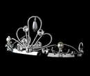Elegance by Carbonneau HPC-756 Pearl & Crystal Flower Girl Comb HPC-756