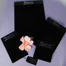 Elegance by Carbonneau JewelryCards Elegant Black Velvet Jewelry Display Cards