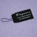 Elegance by Carbonneau JewelryTag Elegant Black Jewelry Tag