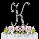 Elegance by Carbonneau K-Vintage Vintage ~ Swarovski Crystal Wedding Cake Topper ~ Letter K