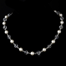 Elegance by Carbonneau N-8352-White Necklace 8352 White