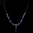 Elegance by Carbonneau N-8354-Blue Necklace 8354 Blue