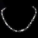Elegance by Carbonneau N-8360-White Necklace 8360 White
