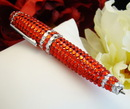 Elegance by Carbonneau Pen-3991-Red Crystal Red Pen