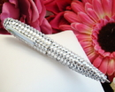 Elegance by Carbonneau Pen-3998-Clear Crystal Clear Pen