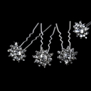 Elegance by Carbonneau Pin-KCS0068 Glitzy Crystal Hair Pins KCS 0068 (Set of 12)