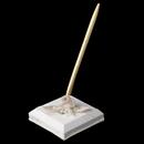 Elegance by Carbonneau PS-796-Rum Organza Bow & Rose Pen Set 796
