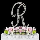 Elegance by Carbonneau R-Vintage Vintage ~ Swarovski Crystal Wedding Cake Topper ~ Letter R