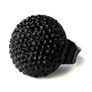 Elegance by Carbonneau Ring-951-Black Black Pave Ball Ring 951