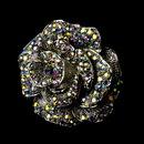 Elegance by Carbonneau Ring-995-AB Silver AB Ring 995