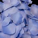 Elegance by Carbonneau Rose-Petals-Periwinkle-20 Two-tone Periwinkle Rose Petals (100 Count) #20