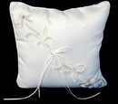 Elegance by Carbonneau RP-15-Lily-W Lily Bridal Ring Bearers Pillow RP 15 - White