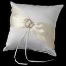 Elegance by Carbonneau RP-763 Two Rings Ring Pillow 763