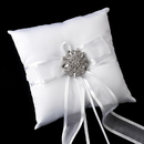 Elegance by Carbonneau RP-90-Brooch-48-A-Clear Ring Pillow 90 with Antique Clear Brooch 48