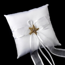 Elegance by Carbonneau RP-90-Brooch-88 Ring Pillow 90 with AB Crystal Beach Starfish Brooch 88