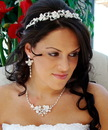 Elegance by Carbonneau Set-HP7803-and-NE7803 Couture Bridal Headpiece & Jewelry Set HP 7803 & NE 7803