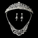 Elegance by Carbonneau Set-NE7209-and-HP7093 Swarovski Crystal Jewelry & Tiara NE 7209 HP 7093