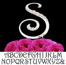 Elegance by Carbonneau Single-Letter-Cake-Topper Single Letter Cake Topper