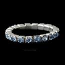 Elegance by Carbonneau TOE-RING-STRETCHY-1-LTBL Silver-Light Blue Rhinestone Toe Ring Stretchy 1