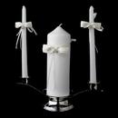 Elegance by Carbonneau UC-767 Beaded Lace Unity Candle Set 767