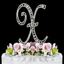Elegance by Carbonneau X-Vintage Vintage ~ Swarovski Crystal Wedding Cake Topper ~ Letter X