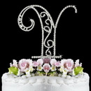 Elegance by Carbonneau Y-Roman Romanesque ~ Swarovski Crystal Wedding Cake Topper ~ Letter Y