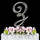 Elegance by Carbonneau Z-Vintage Vintage ~ Swarovski Crystal Wedding Cake Topper ~ Letter Z