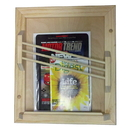 WG Wood Products MR-16 Contemporary magazine rack