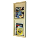 WG Wood Products MR-18 Double on the wall magazine rack