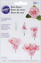 Wilton 1005-4453 Gum Paste Rose Bases 24 Pk