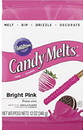 Wilton 1911-425 Bright Pink Candy Melts 12Oz A