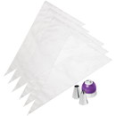 Wilton 2104-7072 Tri Color Decorating Set 9Pc