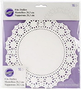 Wilton 2104-90208 8 In Doilies Gp-Wh