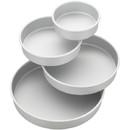 Wilton 2105-2101 4-Pc Round Pan Set